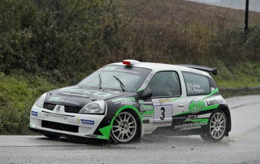 6° RALLY DAY DI POMARANCE: IL SUCCESSO E' PER ARZA'-RASPINI SU RENAULT CLIO S1600