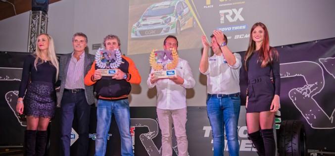 Galli, Gallo e Valazza campioni italiani Rallycross
